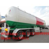 57cbm 3 axles of BPW/FUWA  LPG tanker semi-trailer for propane for sale, best price propane gas tank trailer for sale Manufactures