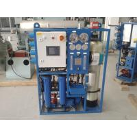 High performance Marine Reverse Osmosis Fresh Water Generator with price Manufactures