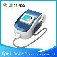 China NUBWAY Newest 808nm Diode Laser Hair Removal Machine For Facial , Beard , Neck 1800W on sale