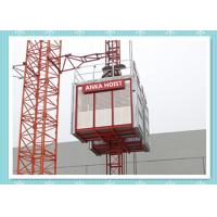 Passenger / Construction Materials Building Hoist Elevator With Frequency Control System Manufactures