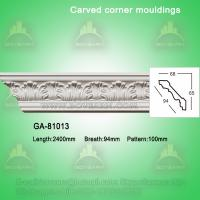 China Good Quality European- style Decorative PU Carved Crown Moulding for Ceiling on sale
