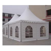 China Outside Luxury Garden Canopy Tent With Double PVC Opaque Self Cleaning Cloths on sale