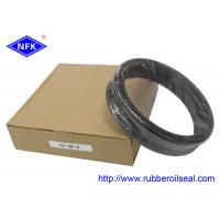 Bulldozer D85 Parts Floating Oil Seal , Rubber Piston Seals High Pressure Resistant Manufactures