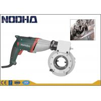 China High Precision Pipe Beveling Machine With Aluminum Body PSCB-63 Dia. 14-63mm on sale