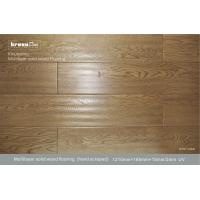 Engineered Hand-scraped Multi Layer Flooring Customized For Office Glueless Manufactures
