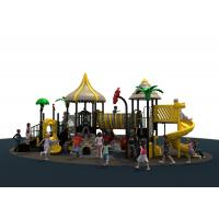 Anti Skid Pvc Coated Outdoor Playground Equipment For Children Manufactures