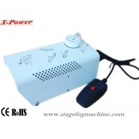 400 Watt White DJ Fog Machine, Theatrical Smoke  Machine Wire Control For Party, KTV   X-04 Manufactures