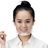 Food Service Sanitary Transparent Plastic Mouth Cover Manufactures