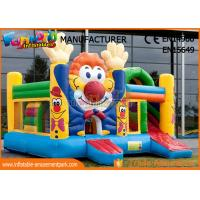 Buy cheap Customized Commercial Bouncy Castles Cartoon Printing For Outdoor Playground from wholesalers