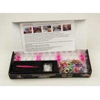 Silicone Rubber Loom Bands Kits Manufactures