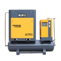 Airhorse Screw air compressor with air tank and dryer SKF bering Manufactures