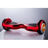 6.5 Wheel Red Self Balancing Electric Hoverboard With Led Lights 8km/H Max Speed