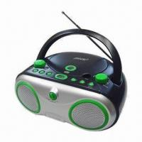 China Boom Box MP3 + CD-R/CD-player with AM/FM 2 Band Radio/FM Two Band Radio on sale