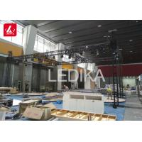 China 1-4 Meter Aluminum Spigot Truss For Light Stage Square / Box Truss Outdoor Roof Systems on sale