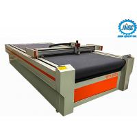 China Auto Feeding Oscillating CNC Knife Cutting Table 1625 For Fabric Leather on sale