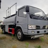 China cheaper p[rice CLW 90hp diesel 3-5cbm mobile fuel dispensing truck for sale, oil tanker truck , petrol transported truck on sale