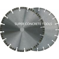 Laser Welded Saw Blades For General Purpose Reinforced Concrete Granite Brock Cutting Manufactures