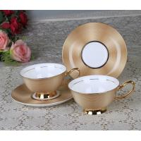 bone china coffee cup&saucer for export with higher cost performance made in china Manufactures