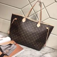 China LV LARGE, CLASSIC SHOPPING BAG., ORIGINAL PVC FABRIC WITH SUPER FIBER LEATHER,CANVAS LINING CLASSIC  SHOULDER BAG on sale