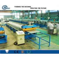 230-550 Mpa Hydraulic Station Wall And Roof Cladding Sheets Steel Roll Forming Machine Manufactures