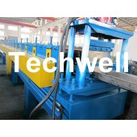 18 Forming Station Hat Channel / Furring Channel Roll Forming Machine TW-HCM100 Manufactures