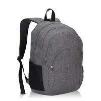 """Grey Polyester Sports School Bags Kids School Backpacks For Boys 13"""" X 18.5"""" X 7.5"""" Manufactures"""
