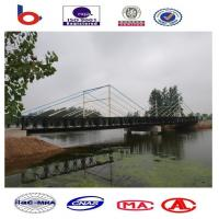 CB200 muti span Bailey Bridge Single Lane DSR, painted Steel Bridge, Truss Bridge,bridge Manufactures
