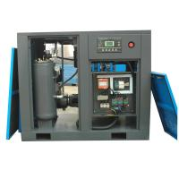Industrial Screw Type Air Compressor Machine With Electric Motor , 20hp / 15kw , Lubricated , Air Cooling , Wholesale