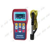 China Gray / Red Portable Metal Hardness Tester Intuitive Display With Window Menu on sale