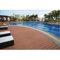 Weather resistant grooved competitive price wood plastic composite decking, WPC decking, w Manufactures