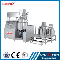 Cosmetic Vacuum Emulsifying Mixer Cream Mixing Machine 500L 300L 200L 100L 1000L Manufactures