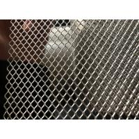 China 2.5X5mm Mill Finish Diamond Aluminum Expanded Metal Mesh Rolls With Color Customized on sale