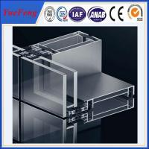 Price aluminum aluminium frame wall glass partition,aluminium frame glass wall Manufactures