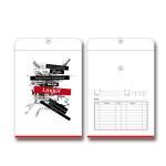 Custom Logo Office Paper File , Ribbon Handle Kraft Paper Bag Manufactures