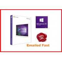 Windows 10 Pro Retail Box , Win 10 Pro Pack  64 Bit 3.0 usb flash drive activated online working lifetime Manufactures