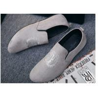 Custom Made Girl Velvet Loafers Slip on Style Fringe Decoration Suede Leather Manufactures