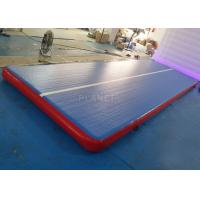 Durable Inflatable Gymnastics Air Floor Cheerleading Inflatable Mat For Training Manufactures