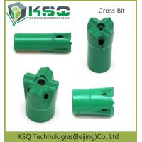 29mm - 60mm Diameter High Speed Mining Bits Cross Taper 7 11 12 Degree Manufactures