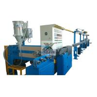 China Single Screw Electric Cable Extruder Machine 12 Months Warranty on sale
