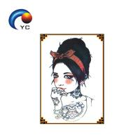 Waterproof Yincai Temporary Tattoo Sticker For Women Arm Sleeve Chest Manufactures