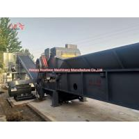 China Specialized Nail Wooden Pallet Shredding Equipment With Strong Cutting System on sale