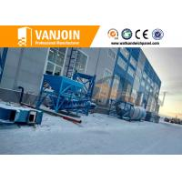 Annual High Output Lightweight Wall Panel Machine With Vertical Mould Car Manufactures