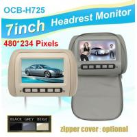 Ouchuangbo 7 inch Car Headrest monitor DVD Player with touch screen MP3 MP4 Manufactures