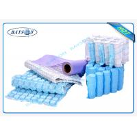 9G-120 Gram Multi Color 47cm Width PP Spunbond Non Woven Fabric For Box Spring Cover Manufactures