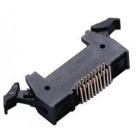 20 Pin Header Latch Header Right Angle Male Header Connector 1.27 * 2.54mm Manufactures