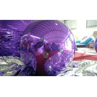 China 1 M  Purple and Blue  Inflatable Advertising Ball /Inflatable Mirror Ball For  Christmas on sale