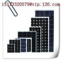 China 20W-250W Mono-crystalline Solar Panels on sale