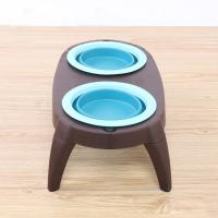Portable Best Christmas Double Pet Dog Cat Food Bowls Manufacturer Manufactures