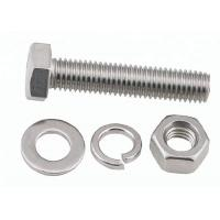 China Stainless Steel / Carbon Steel Bolt And Nut Assembly 8.8 10.9 Grade M16 M24 M28 M30 on sale