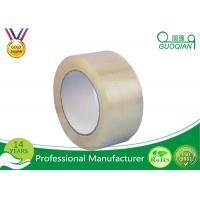 55 Yds Length Low Noise Polypropylene Clear Adhesive Tape For Carton Sealing